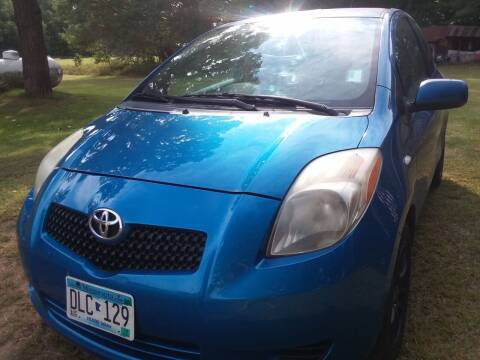 2007 Toyota Yaris for sale at Sunrise Auto Sales in Stacy MN
