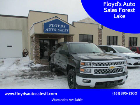 2015 Chevrolet Silverado 1500 for sale at Floyd's Auto Sales Forest Lake in Forest Lake MN