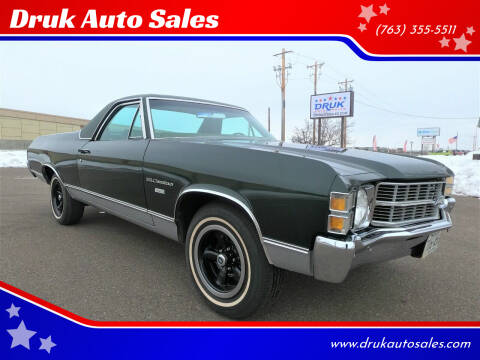 1971 Chevrolet El Camino for sale at Druk Auto Sales in Ramsey MN