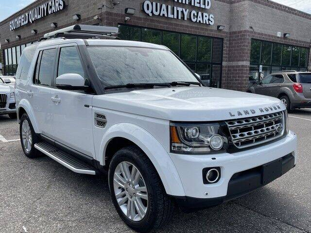 2015 Land Rover LR4 for sale at SOUTHFIELD QUALITY CARS in Detroit MI