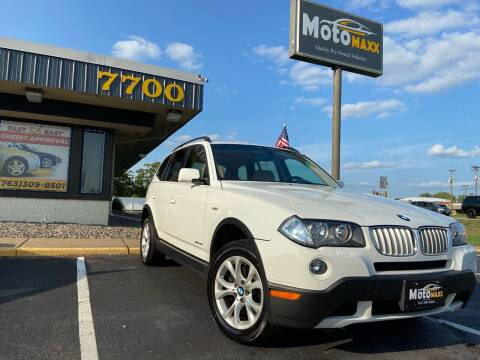 2009 BMW X3 for sale at MotoMaxx in Spring Lake Park MN