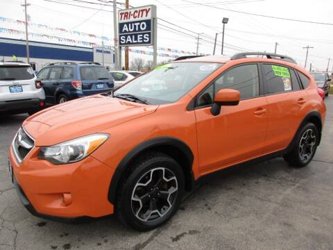 2014 Subaru XV Crosstrek for sale at TRI CITY AUTO SALES LLC in Menasha WI