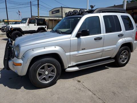 2003 Jeep Liberty for sale at OTWELL ENTERPRISES AUTO & TRUCK SALES in Pasadena TX