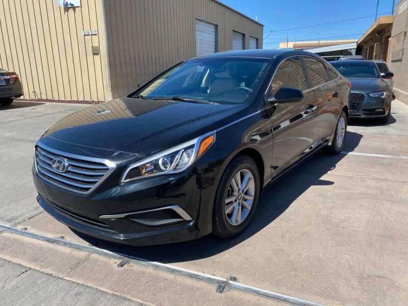 2016 Hyundai Sonata for sale at CONTRACT AUTOMOTIVE in Las Vegas NV