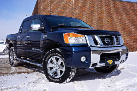 2012 Nissan Titan for sale at Effect Auto Center in Omaha NE