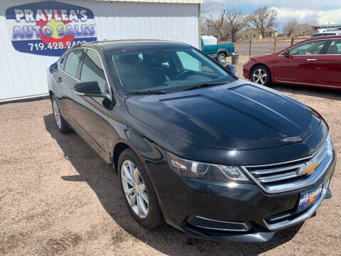 2017 Chevrolet Impala for sale at Praylea's Auto Sales in Peyton CO
