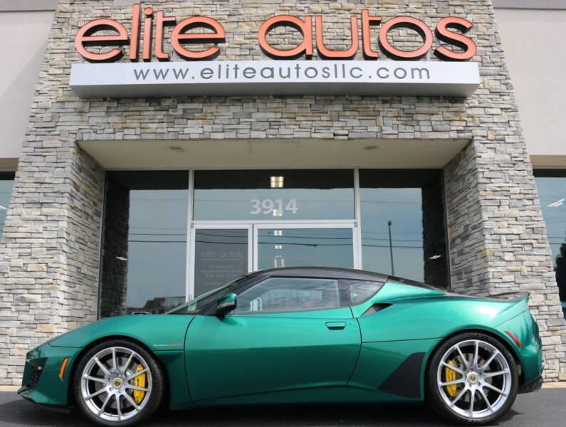 2020 Lotus Evora GT for sale at Elite Autos LLC in Jonesboro AR