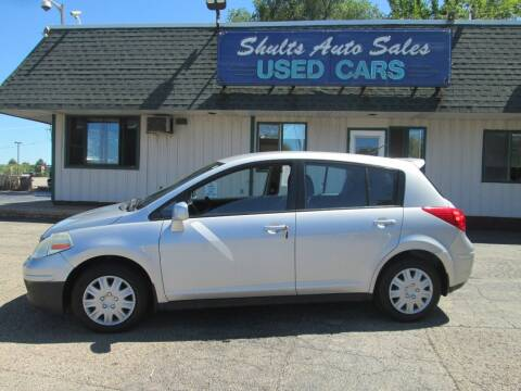 2009 Nissan Versa for sale at SHULTS AUTO SALES INC. in Crystal Lake IL