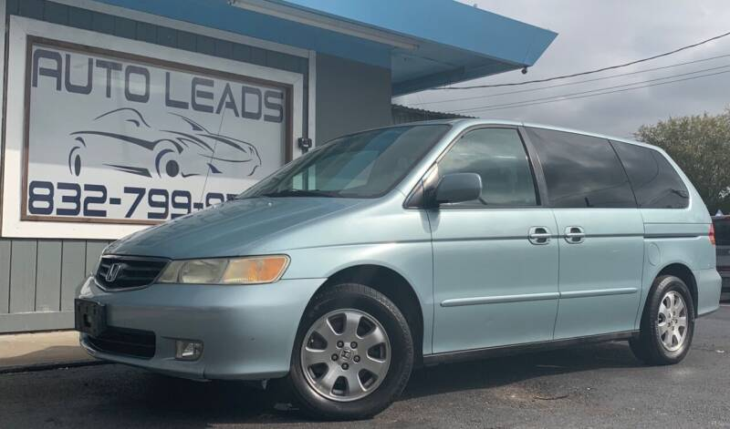 2004 Honda Odyssey for sale at AUTO LEADS in Pasadena TX