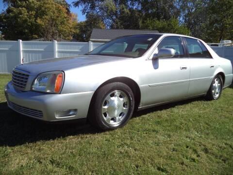 2002 Cadillac DeVille for sale at Niewiek Auto Sales in Grand Rapids MI