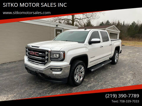 2016 GMC Sierra 1500 for sale at SITKO MOTOR SALES INC in Cedar Lake IN