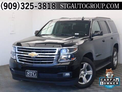 2017 Chevrolet Tahoe for sale at STG Auto Group in Montclair CA