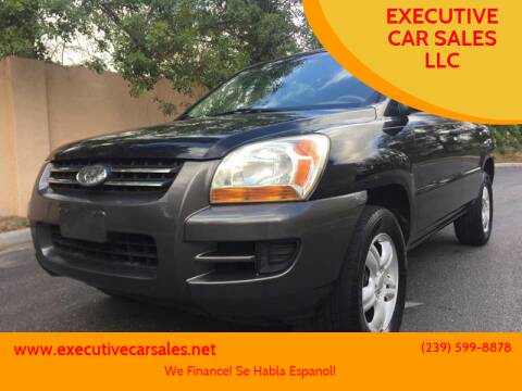 2006 Kia Sportage for sale at EXECUTIVE CAR SALES LLC in North Fort Myers FL