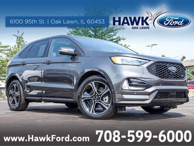2019 Ford Edge for sale at Hawk Ford of Oak Lawn in Oak Lawn IL