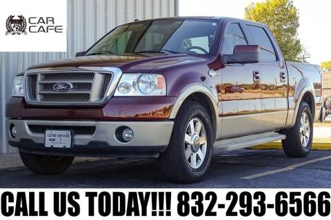 2007 Ford F-150 for sale at CAR CAFE LLC in Houston TX