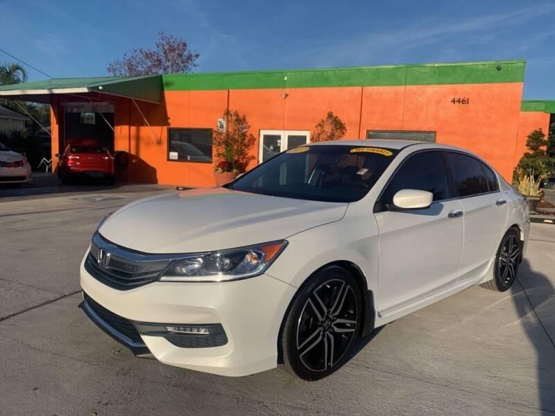 2017 Honda Accord for sale at Galaxy Auto Service, Inc. in Orlando FL