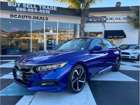 2019 Honda Accord for sale at AutoDeals in Daly City CA