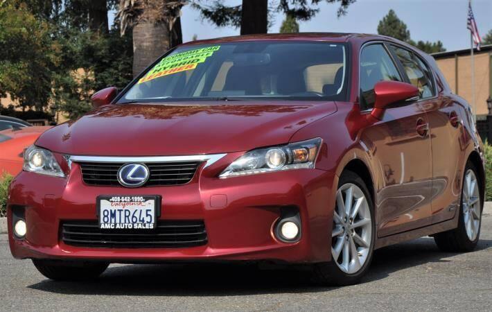 2013 Lexus CT 200h for sale at AMC Auto Sales Inc in San Jose CA