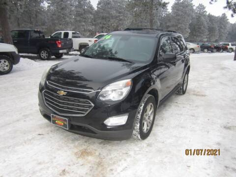 2016 Chevrolet Equinox for sale at SUNNYBROOK USED CARS in Menahga MN