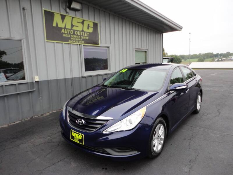 2014 Hyundai Sonata for sale at Moss Service Center-MSC Auto Outlet in West Union IA