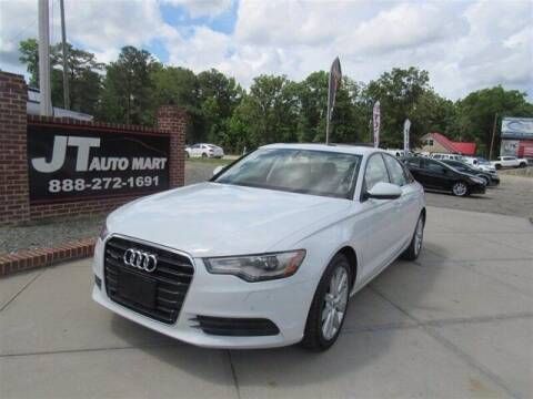 2013 Audi A6 for sale at J T Auto Group in Sanford NC