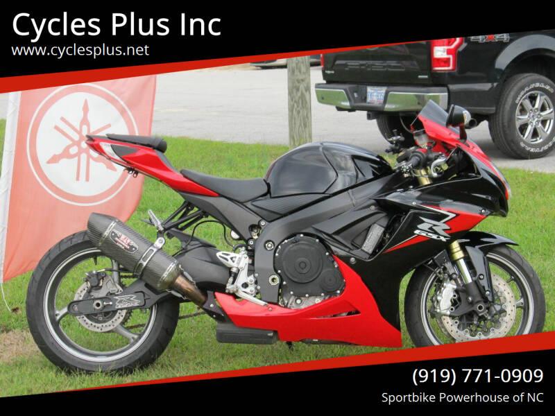 2011 Suzuki GSXR 750 for sale at Cycles Plus Inc in Garner NC