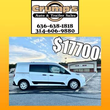 2018 Ford Transit Connect Cargo for sale at CRUMP'S AUTO & TRAILER SALES in Crystal City MO