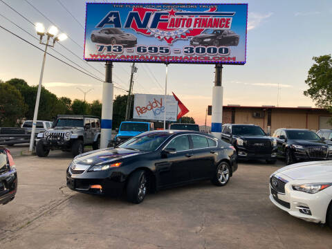 2012 Acura TL for sale at ANF AUTO FINANCE in Houston TX