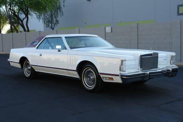 1979 Lincoln Continental for sale at Arizona Classic Car Sales in Phoenix AZ