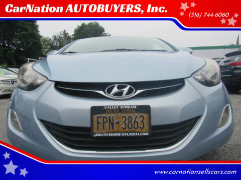 2012 Hyundai Elantra for sale at CarNation AUTOBUYERS, Inc. in Rockville Centre NY