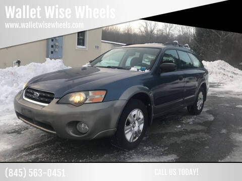 2005 Subaru Outback for sale at Wallet Wise Wheels in Montgomery NY