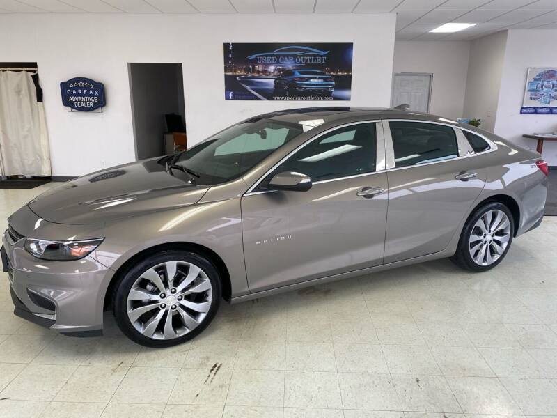 2017 Chevrolet Malibu for sale at Used Car Outlet in Bloomington IL
