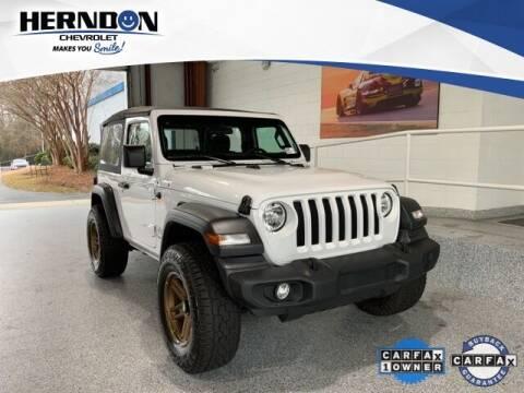 2020 Jeep Wrangler for sale at Herndon Chevrolet in Lexington SC