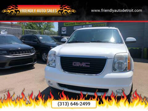 2009 GMC Yukon for sale at Friendly Auto Sales in Detroit MI