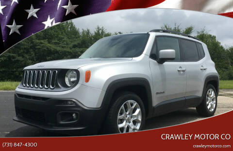 2015 Jeep Renegade for sale at Crawley Motor Co in Parsons TN