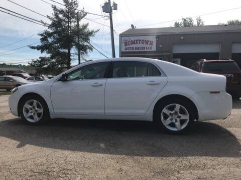 2011 Chevrolet Malibu for sale at Jim's Hometown Auto Sales LLC in Byesville OH