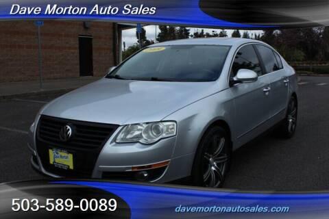 2009 Volkswagen Passat for sale at Dave Morton Auto Sales in Salem OR