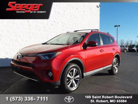 2016 Toyota RAV4 for sale at SEEGER TOYOTA OF ST ROBERT in St Robert MO