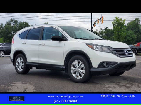 2014 Honda CR-V for sale at Carmel Auto Group in Indianapolis IN