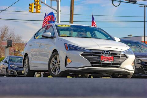 2019 Hyundai Elantra for sale at Dina Auto Sales in Paterson NJ