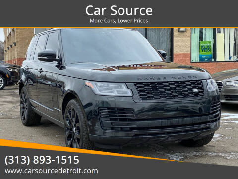 2019 Land Rover Range Rover for sale at Car Source in Detroit MI