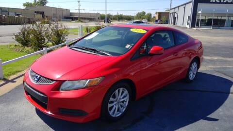 2012 Honda Civic for sale at Nelson Car Country in Bixby OK