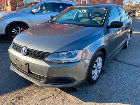 2013 Volkswagen Jetta for sale at Ludlow Auto Sales in Ludlow MA