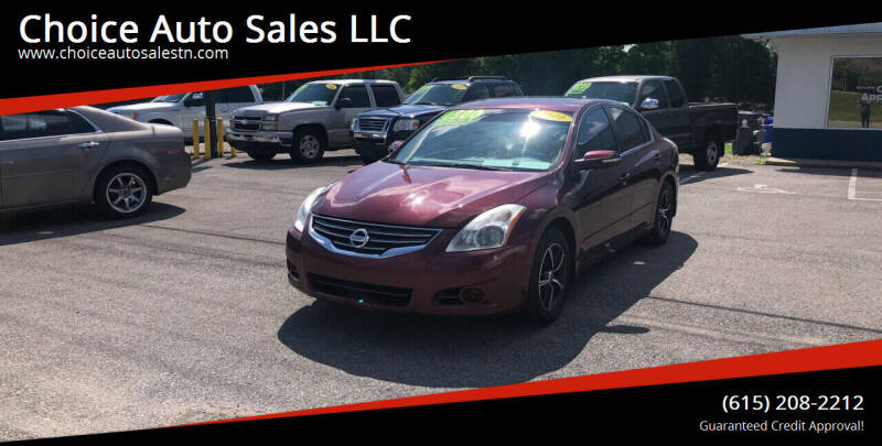 2010 Nissan Altima for sale at Choice Auto Sales LLC - Cash Inventory in White House TN