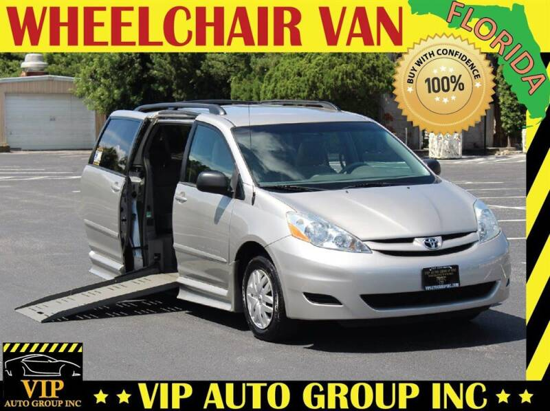 2009 Toyota Sienna for sale at VIP Auto Group in Clearwater FL
