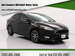 2017 Ford Focus for sale at Kurt Bonners Whitehall Motor Sales in Whitehall MI