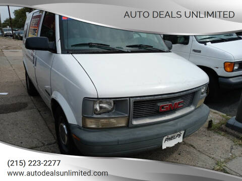 1998 GMC Safari Cargo for sale at AUTO DEALS UNLIMITED in Philadelphia PA