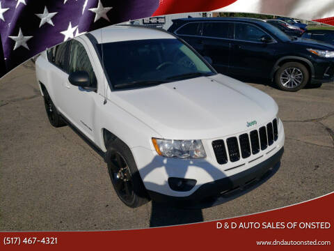 2011 Jeep Compass for sale at D & D Auto Sales Of Onsted in Onsted MI