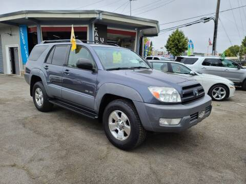 2003 Toyota 4Runner for sale at Imports Auto Sales & Service in San Leandro CA