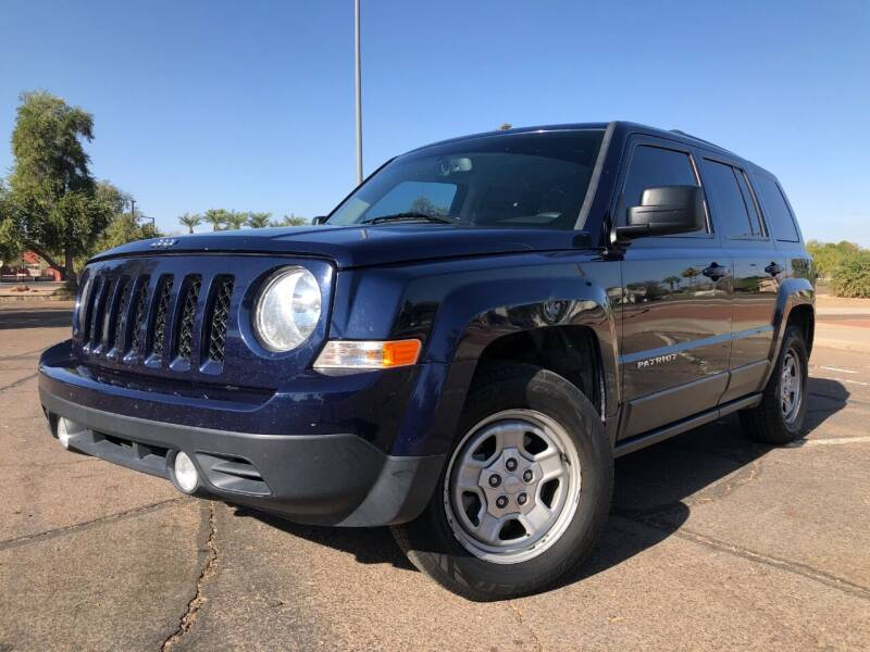 2016 Jeep Patriot for sale at DR Auto Sales in Glendale AZ
